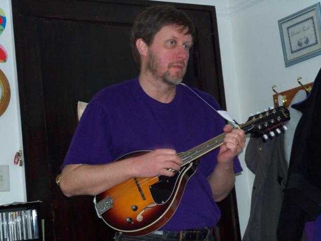 Fender Mandolin fm 52e Fender fm 52e Mandolin